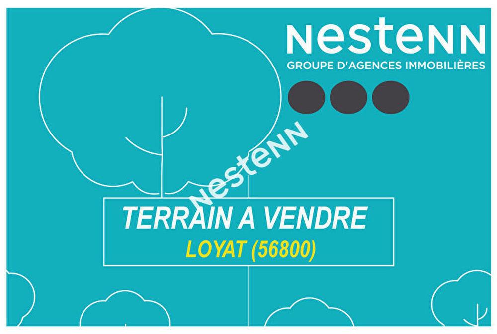 Vente Terrain Terrain à bâtir de 2364 m² à  Loyat (56800) Loyat