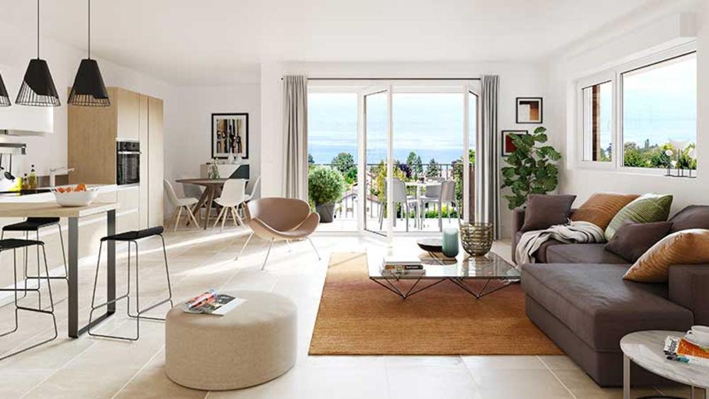 Vente Appartement Anthy sur Léman Appartement T4 ATTIQUE de 72m² avec balcon  à Anthy sur leman