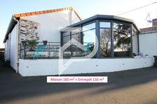 Maison de 160m² / Entrepôt de 135m² 538175