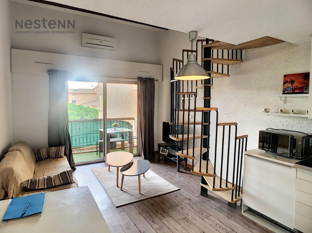 Location Appartement FREJUS PLAGE 2 pièce(s)  meublé +mezzanine 53m²  à Frejus