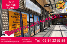 A LOUER Local commercial Marseille 11EME Grand V 36 m2 720