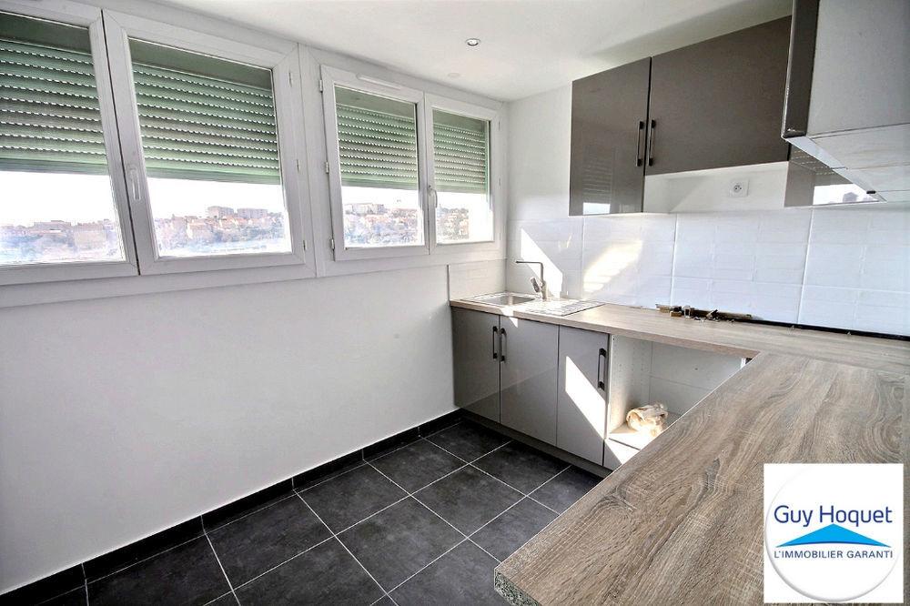 Vente Appartement À vendre, appartement d'environ 73,12 m², 4 pièces dans le 15e arrondissement de MARSEILLE résidence les Borels. Marseille 15