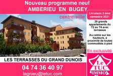 AMBERIEU EN BUGEY CENTRE - Appt T2 de 59 m2 avec terrasse, garage et parking. 208500 Ambérieu-en-Bugey (01500)