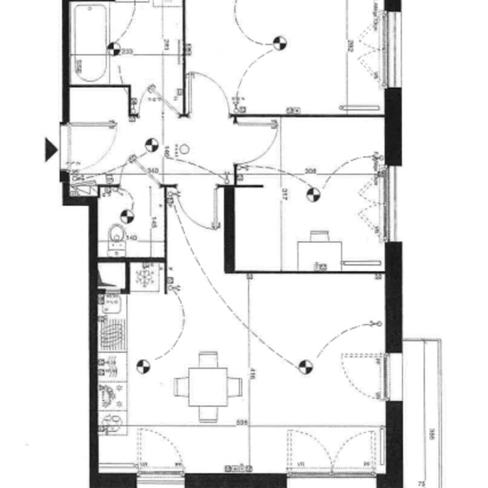 Location Appartement Appartement 3 pièces - 61m² - Evry centre  à Evry