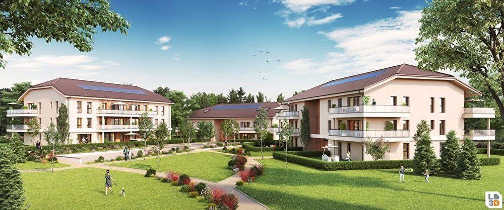 Vente Appartement Appartement T3 65m² ATTIQUE avec terrasse de 25m²  à Crozet