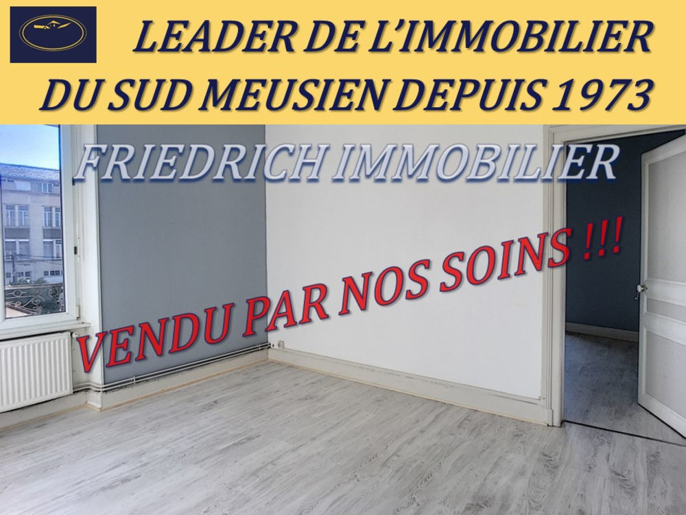 Vente Appartement APPARTEMENT F3 PROCHE GARE HABITABLE DE SUITE - LIBRE A LA VENTE - COMMERCY  à Commercy