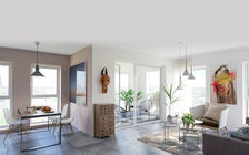 Appartement  4 pièce(s) 85.90 m2 Montchat Lyon 580000 Lyon 3