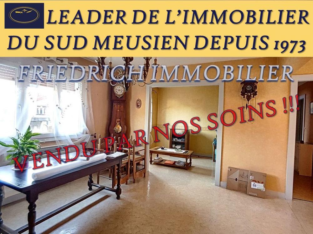 Vente Appartement APPARTEMENT TYPE F4 PLEIN CENTRE-VILLE A RAFRAÎCHIR - LIBRE A LA VENTE - LIGNY-EN-BARROIS  à Ligny en barrois
