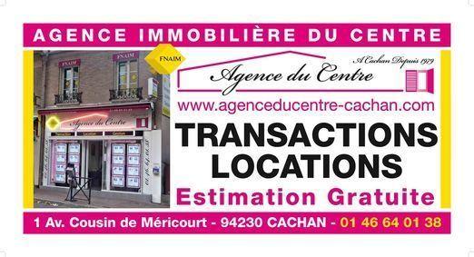 AGENCE IMMO DU CENTRE TRANSACTION, agence immobilière 94