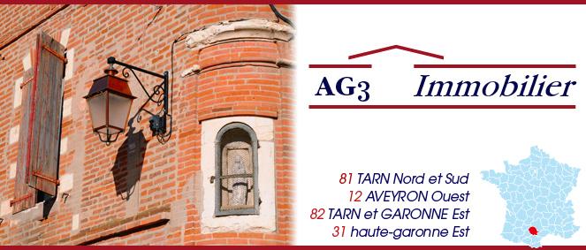 AG 3 SARL - AGENCE 3, agence immobilière 81