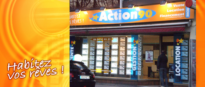 ACTION 90 IMMOBILIER, agence immobilière 90
