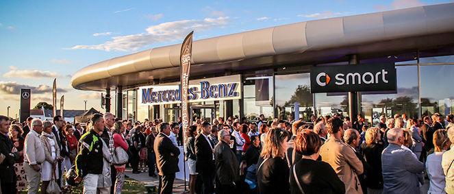SAGA Mercedes-Benz VILLENEUVE D'ASCQ, concessionnaire 59