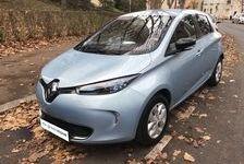 Renault ZOE Life Charge rapide état de santé batterie 96 % 148 Paris 3
