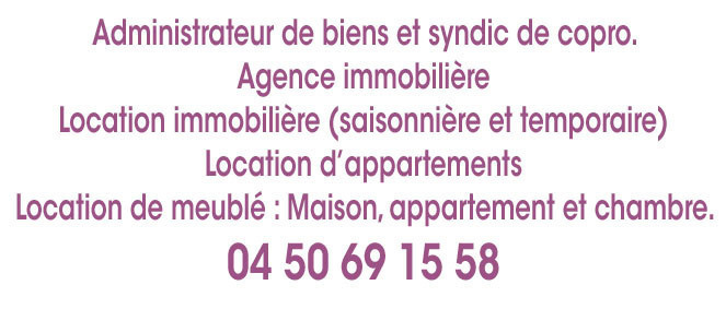 CABINET CHARVIN MEGEVAND, agence immobilière 74