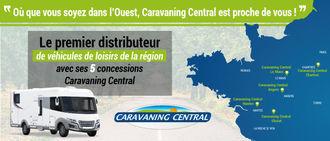 CARAVANING CENTRAL LE MANS, concessionnaire 72