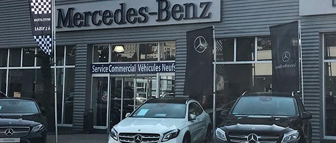 CONCESSION MERCEDES BENZ, concessionnaire 76