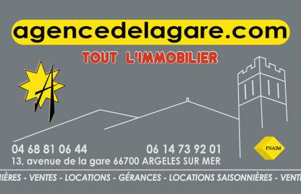 Agence de la Gare, agence immobilière 66