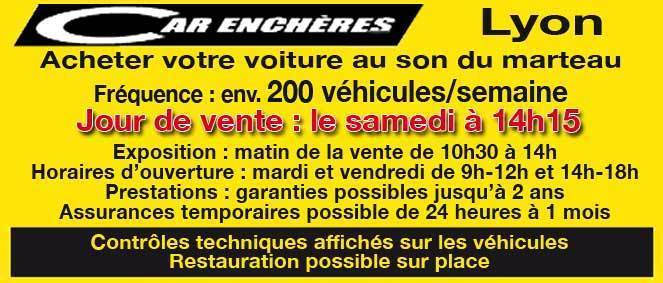 CAR ENCHERES, concessionnaire 69