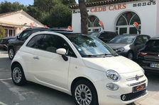 Fiat 500 1.2 69 ch Eco Pack Lounge 2018 occasion Gassin 83580