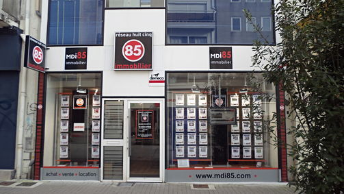 MDI 85 LA ROCHE SUR YON, agence immobilière 85