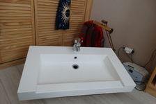 Lavabo en résine 80x46 avec mitigeur. 50 Nice (06100)
