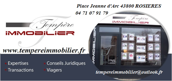 TEMPERE IMMOBILIER, agence immobilière 43
