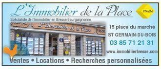 L IMMOBILIER DE LA PLACE, agence immobilière 71