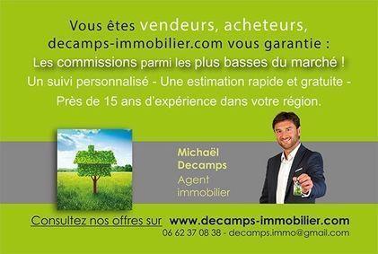DECAMPS-IMMOBILIER.COM, agence immobilière 08