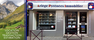 ARIEGE PYRENEES IMMOBILIER, agence immobilière 09