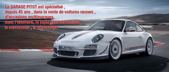 GARAGE FREDERIC PITOT <br> Spécialiste Porsche, concessionnaire 28