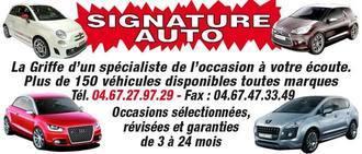 SIGNATURE AUTO, concessionnaire 34