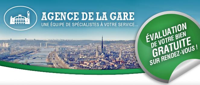 AGENCE DE LA GARE, agence immobilière 76