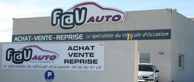 F A V AUTO, concessionnaire 30