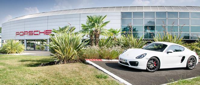 Centre Porsche Bordeaux, concessionnaire 33