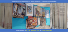 RARE COLLECTION 149 PREMIERS NUMEROS de JARDIN DES ARTS 800 Paris (75015)