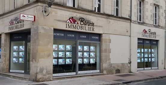AGENCE BARATTE IMMOBILIER, agence immobilière 17