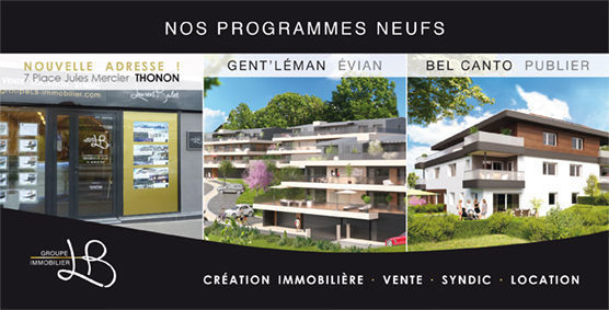 GROUPE LB IMMOBILIER, agence immobilière 74