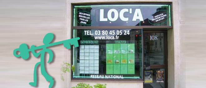 LOC'A, agence immobilière 21
