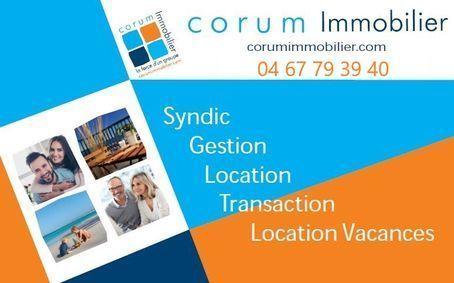 CORUM IMMOBILIER, agence immobilière 34