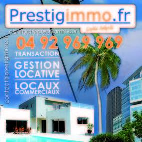 PRESTIGIMMO AZUR, agence immobilière 06