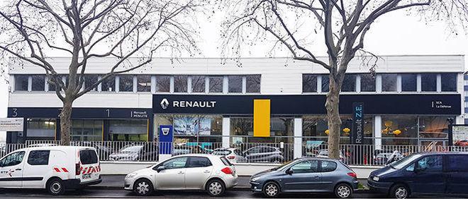 RENAULT NANTERRE ARAGO, concessionnaire 92