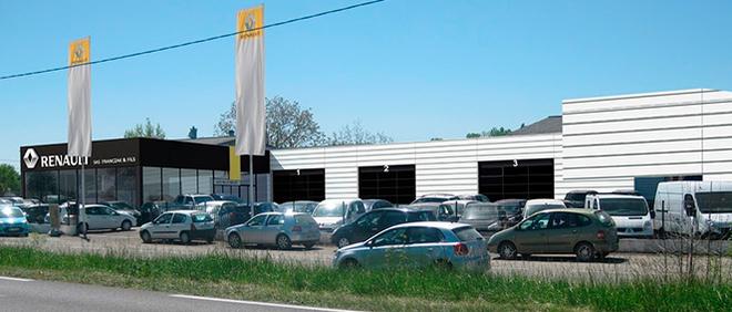 Renault FRANCZAK GARAGE, concessionnaire 32