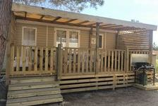 Mobil-home 6/8 personnes max  650 Canet Plage (66140)