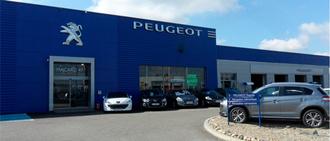 PEUGEOT - MACARD 47, concessionnaire 47