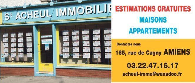 SAINT ACHEUL IMMOBILIER, agence immobilière 80