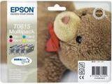 """EPSON T0615-C13T06154010 série """"Ourson"""" MULTIPACK  50 Lyon 3 (69)"""