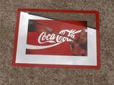 Miroir cadre publicitaire coca cola n3 occasion  20 Rethel (08)