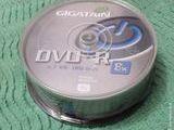 PACK 25 DVD+R 4,7 GO GIGATAIN 8x 2 heures NEUF 10 Écuisses (71)