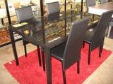 Table métal et verre + 4 chaises  290 Toulouse (31)
