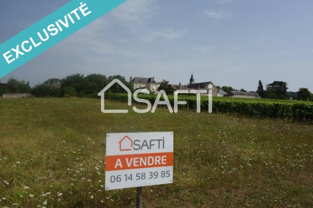 Vente Terrain Terrain à bâtir centre bourg 1210 m2.  à Ingrandes-de-touraine